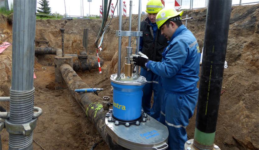 Zařízení pro uzavírání potrubí