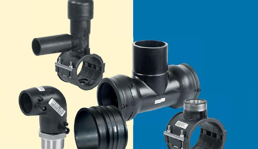 Komponenty pro potrubí z plastů