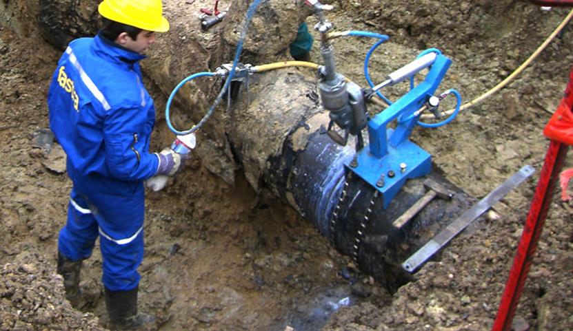Výřez potrubí