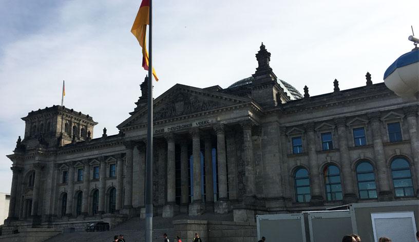 Berlín, září 2018