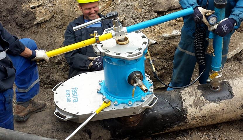 Uzavírání potrubí