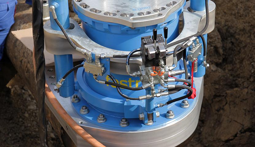 Stoplování VTL plynovodu DN 500