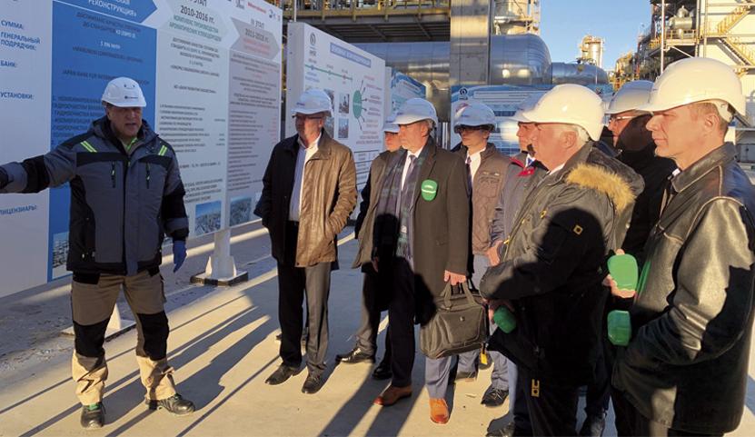 FASTRA, s.r.o. na Misi dodavatelů technologií pro chemický a rafinérský průmysl – Kazachstán