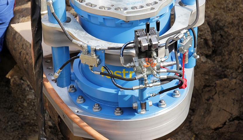Nové zařízení STOPL-S-F1 DN 500 pro potrubí z oceli